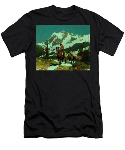 Return From The Hunt Men's T-Shirt (Athletic Fit)