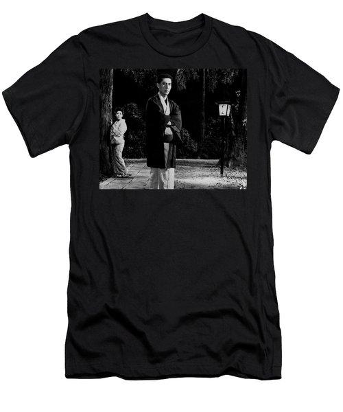 Return Of The Young Boss Men's T-Shirt (Slim Fit) by Dan Twyman