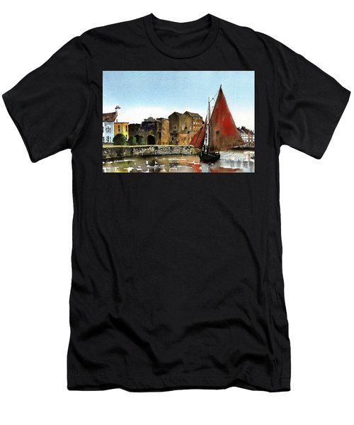 Returning Home To The Cladagh Men's T-Shirt (Athletic Fit)