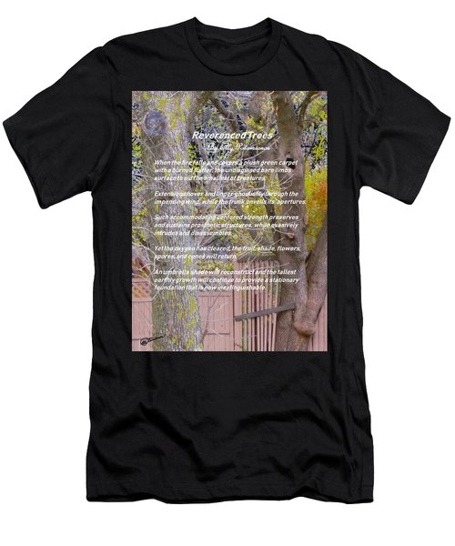 Reverence Of Trees Men's T-Shirt (Athletic Fit)