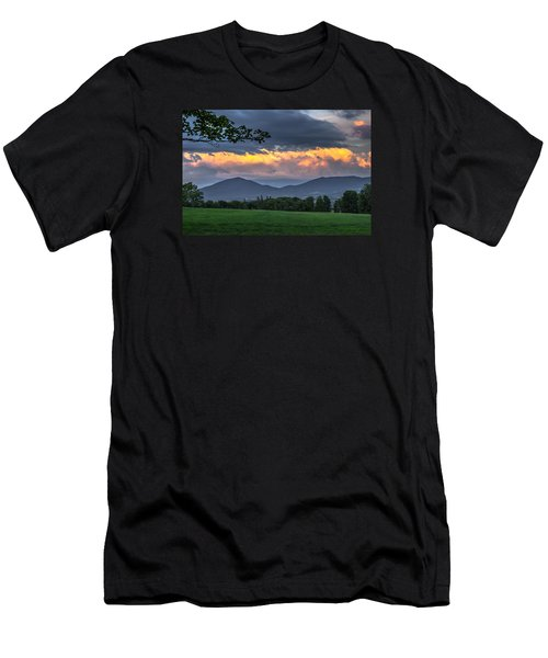 Reverse Sunset Men's T-Shirt (Athletic Fit)