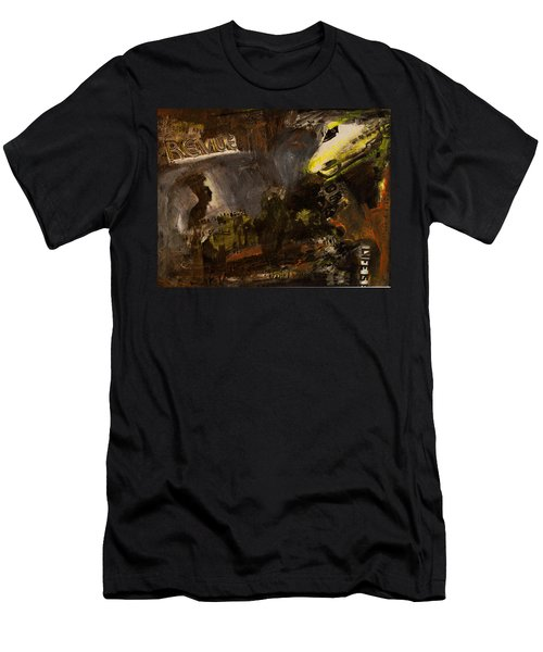 Revue/life Is Beautiful Men's T-Shirt (Athletic Fit)