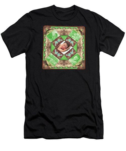 Reynard Quilt Men's T-Shirt (Athletic Fit)