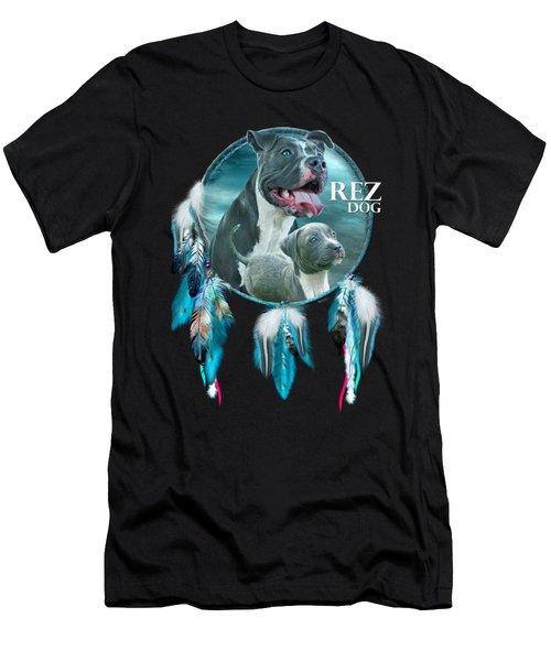 Rez Dog Cover Art Men's T-Shirt (Athletic Fit)