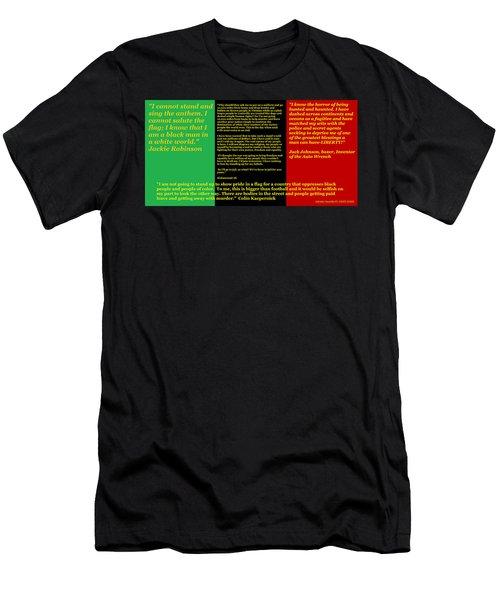 Colin Kaepernick Rbg Men's T-Shirt (Athletic Fit)