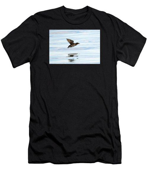 Rhinoceros Auklet Reflection Men's T-Shirt (Athletic Fit)