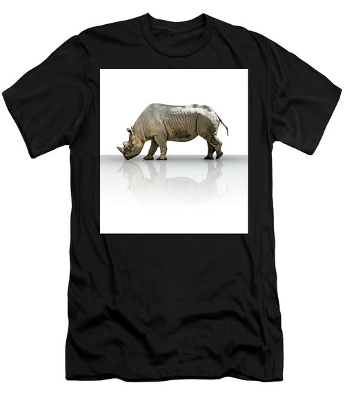 Rhinoceros Men's T-Shirt (Athletic Fit)