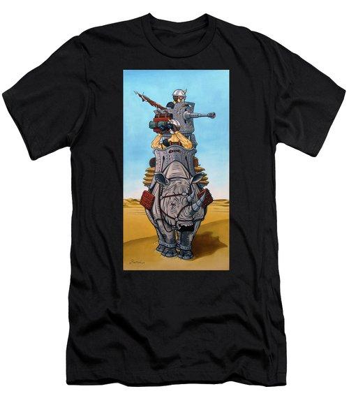 Rhinoceros Riders Men's T-Shirt (Athletic Fit)