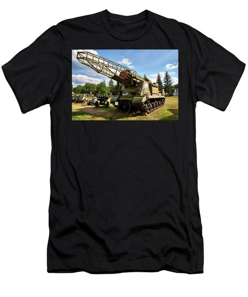 Men's T-Shirt (Athletic Fit) featuring the photograph Rhinosteelceros by Tgchan