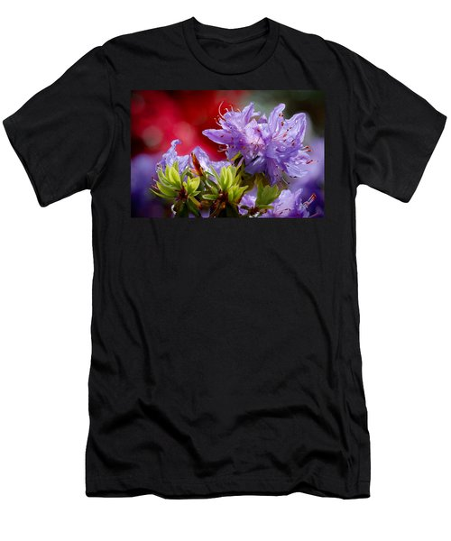 Rhododendron Bluebird Men's T-Shirt (Athletic Fit)