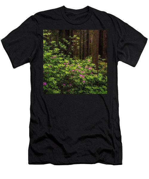 Rhododendrons Men's T-Shirt (Athletic Fit)