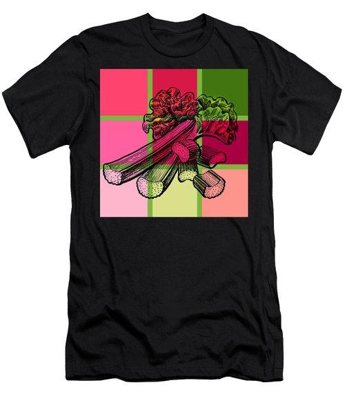 Rhubarb Quilt Men's T-Shirt (Athletic Fit)