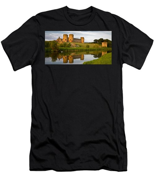Rhuddlan Castle Men's T-Shirt (Athletic Fit)