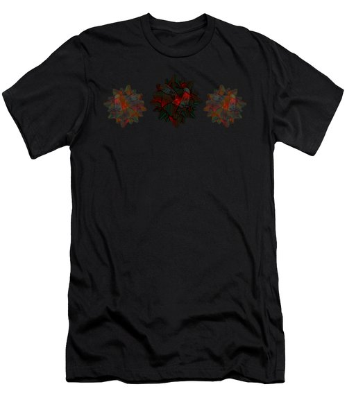 Ribbon Bow Party Series- Flight Abstract Men's T-Shirt (Athletic Fit)