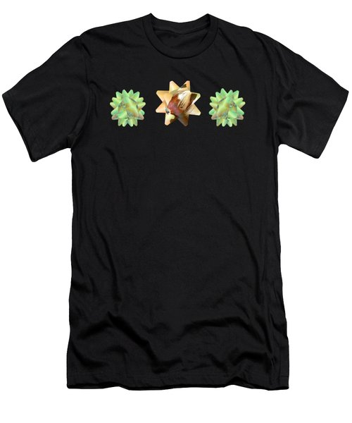 Ribbon Bow Party Series-pony Men's T-Shirt (Athletic Fit)