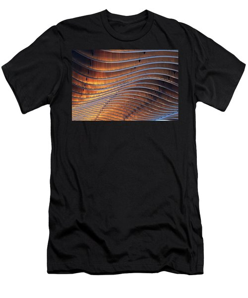 Ribbons Of Steel Men's T-Shirt (Athletic Fit)