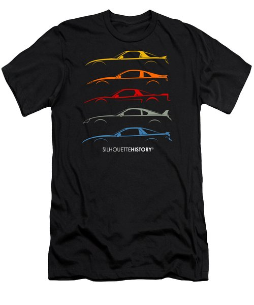 Rice Bomber Silhouettehistory Men's T-Shirt (Athletic Fit)
