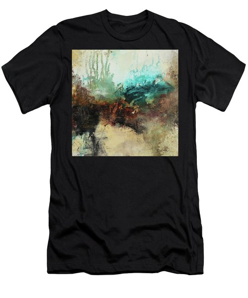 Rich Earth Tones Abstract Not For The Faint Of Heart Men's T-Shirt (Athletic Fit)
