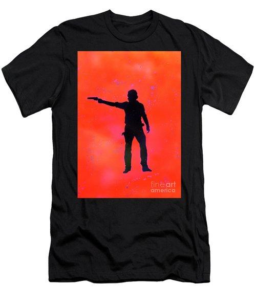 Rick Grimes Men's T-Shirt (Athletic Fit)