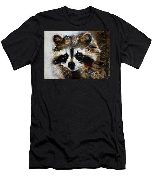 Rickey Raccoon Men's T-Shirt (Athletic Fit)