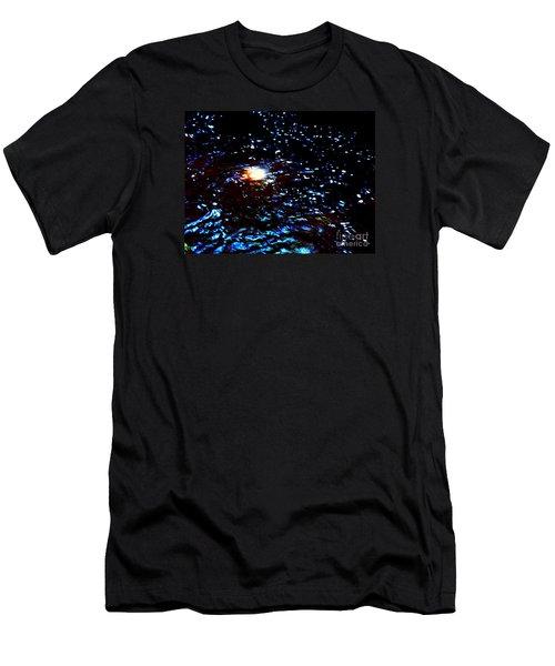 Ride Through Cosmos Men's T-Shirt (Athletic Fit)