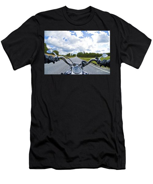 Riders Eye View Men's T-Shirt (Athletic Fit)