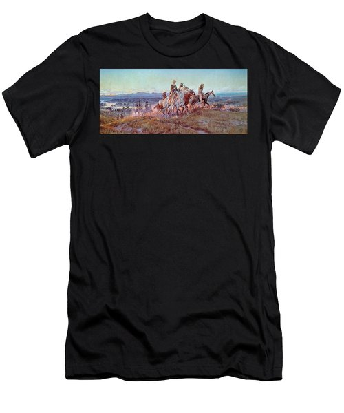 Riders Of The Open Range Men's T-Shirt (Athletic Fit)