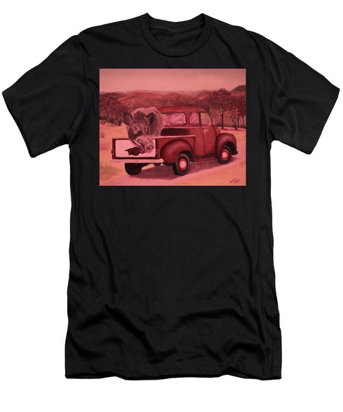 Ridin' With Razorbacks 3 Men's T-Shirt (Athletic Fit)