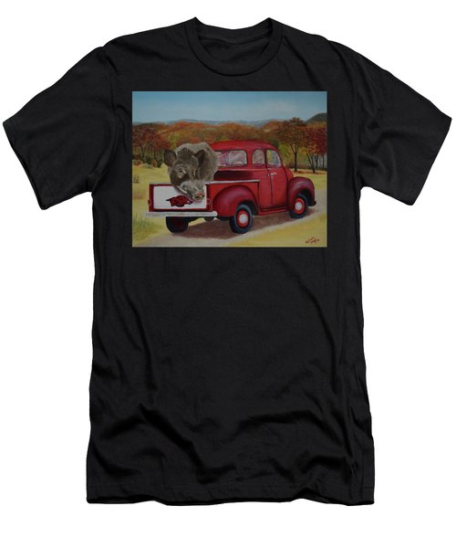 Ridin' With Razorbacks Men's T-Shirt (Athletic Fit)