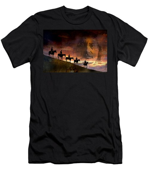 Riding Into Eternity Men's T-Shirt (Athletic Fit)