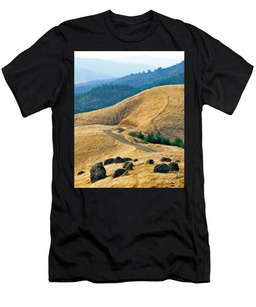Riding The Mountain Men's T-Shirt (Athletic Fit)