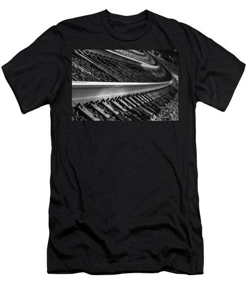 Riding The Rail Men's T-Shirt (Athletic Fit)