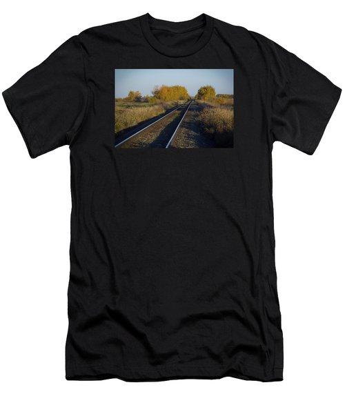 Riding The Rails Men's T-Shirt (Athletic Fit)