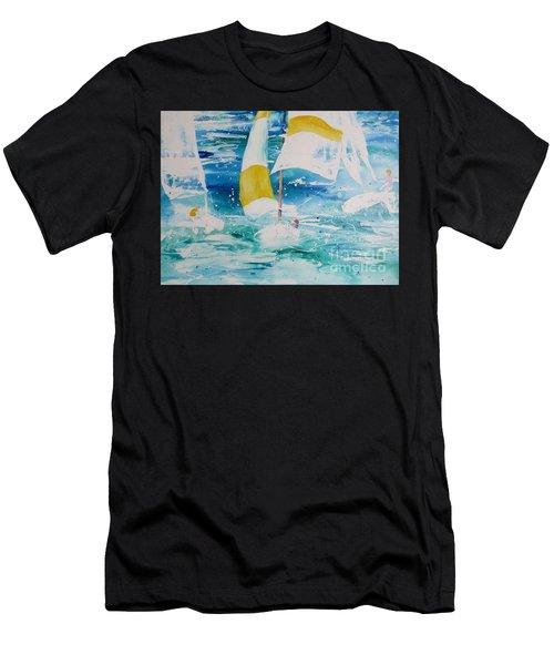 Riding The Wind Men's T-Shirt (Athletic Fit)