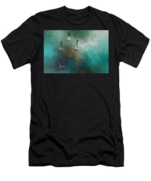 Riding The Winds Men's T-Shirt (Athletic Fit)