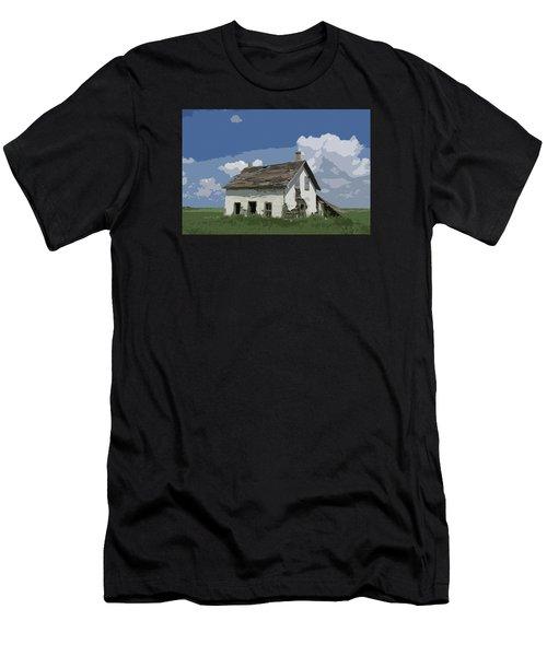 Riel Period Homestead Men's T-Shirt (Athletic Fit)