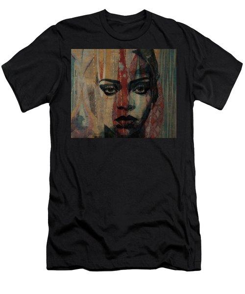 Rihanna - Diamonds Men's T-Shirt (Athletic Fit)