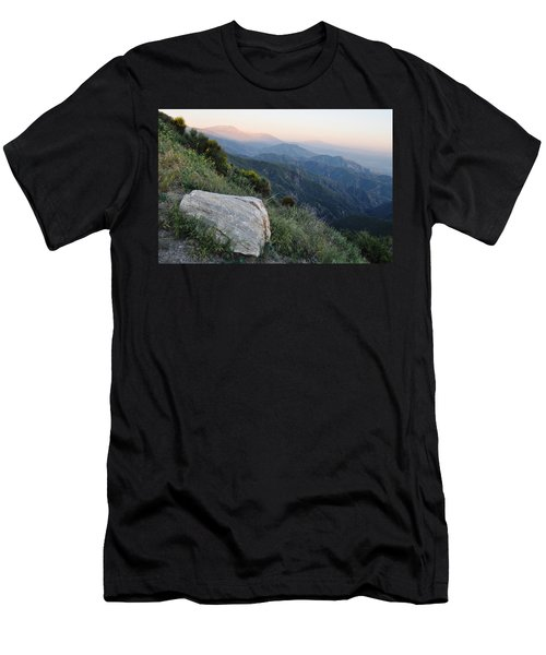 Men's T-Shirt (Slim Fit) featuring the photograph Rim O' The World National Scenic Byway by Kyle Hanson