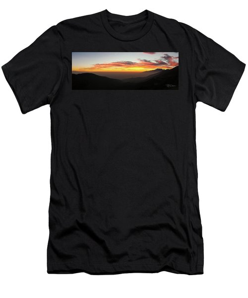 Rim Of The World Men's T-Shirt (Athletic Fit)