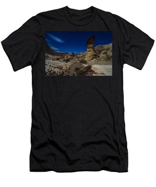 Rim Rock Toadstools Grand Staircase National Monument  Men's T-Shirt (Athletic Fit)