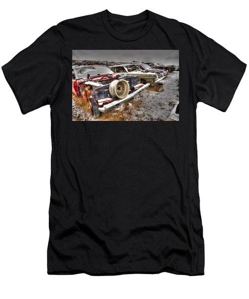 Rim Shot Men's T-Shirt (Athletic Fit)
