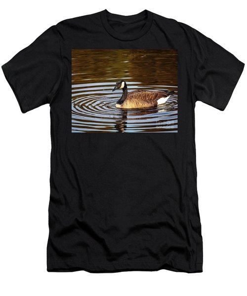 Rings Of Light Men's T-Shirt (Athletic Fit)