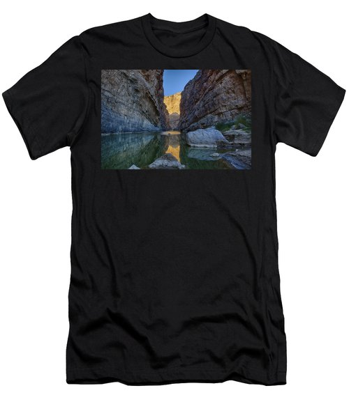 Rio Grand - Big Bend Men's T-Shirt (Athletic Fit)