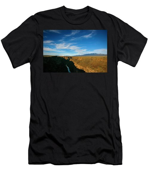 Rio Grande Gorge Nm Men's T-Shirt (Athletic Fit)