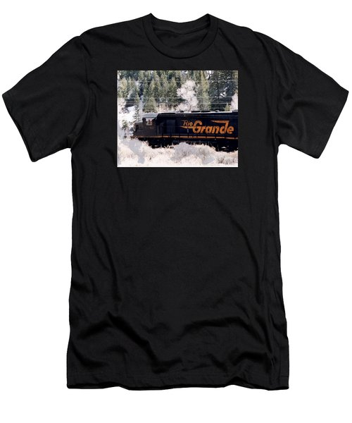 Rio Grande Train In Colorado Men's T-Shirt (Athletic Fit)