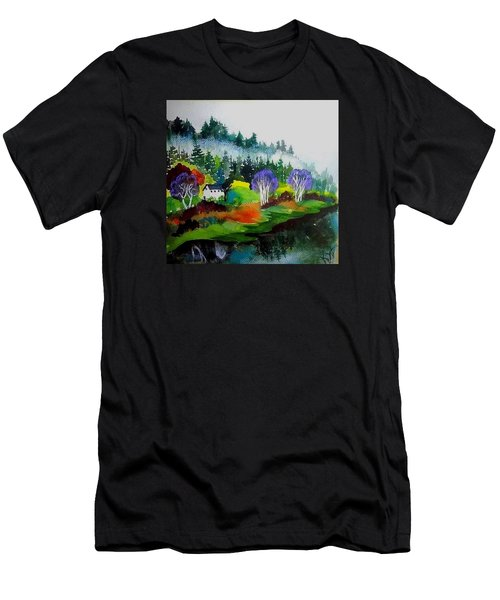 Monte Rio Russian River Men's T-Shirt (Athletic Fit)