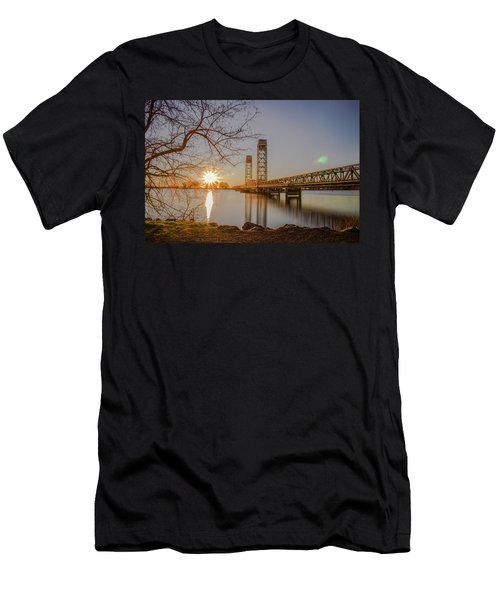 Rio Vista Morning Men's T-Shirt (Athletic Fit)