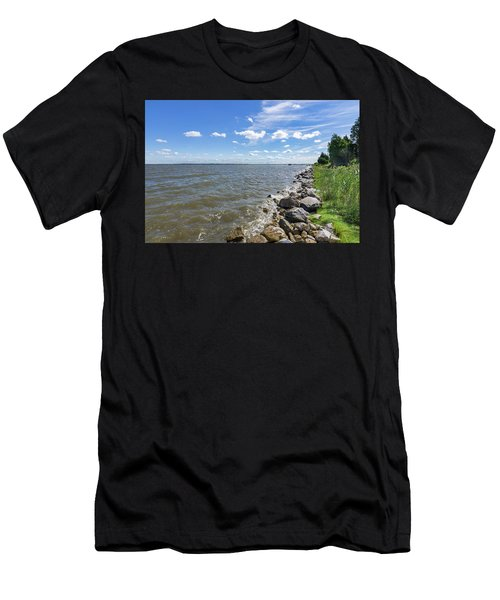 Rip-rap On The Chester Men's T-Shirt (Athletic Fit)