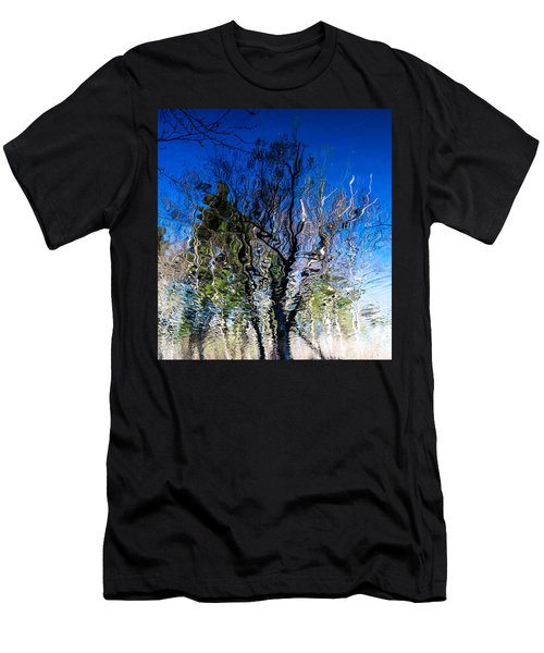 Rippled Reflection Men's T-Shirt (Athletic Fit)