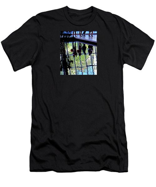 Ripples Men's T-Shirt (Slim Fit) by David Gilbert